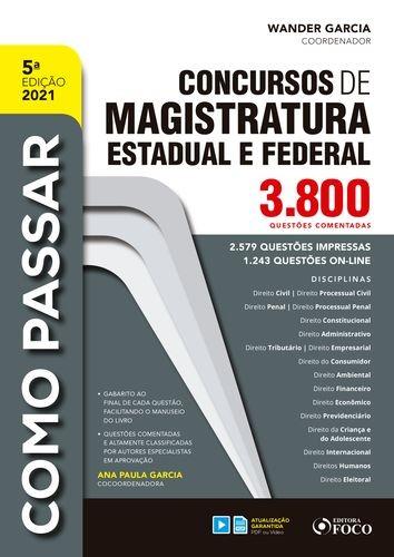 Concursos de magistratura estadual e federal