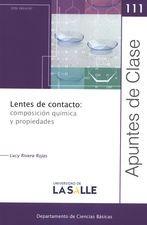 Rev. Apuntes de Clase No.111. Lentes de contacto: composición química y propiedades