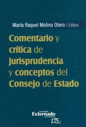 Comentario y crítica de jurisprudencia y conceptos del Consejo de Estado | comprar en libreriasiglo.com