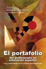 Portafolio del profesorado en educación superior. Uso y experiencias en el contexto iberoamericano, El