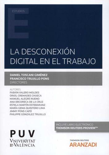 La Desconexión digital en el trabajo | comprar en libreriasiglo.com