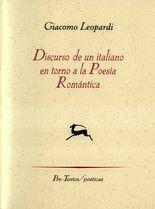Discurso de un italiano en torno a la Poesía Romántica