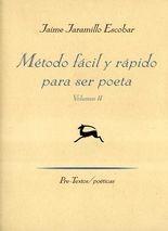 Método fácil y rápido para ser poeta. Vol.II