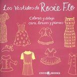 Vestidos de Rosie Flo. Colorea, dibuja cara, brazos y piernas, Los