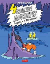 4 cobayas mutantes. La bestia de las profundidades