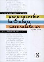 Manual práctico del alumno para escribir un trabajo universitario