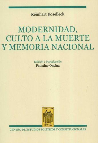 Modernidad, culto a la muerte y memoria nacional | comprar en libreriasiglo.com