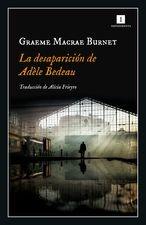 Desaparición de Adéle Bedeau, La