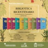 Colección biblioteca bicentenario. Colombia 1810-2010. (10 Tomos) Incluye mapa general