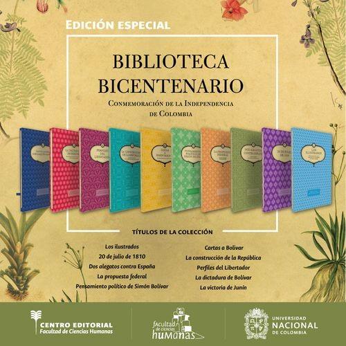 Colección biblioteca bicentenario. Colombia 1810-2010. (10 Tomos) Incluye mapa general   comprar en libreriasiglo.com