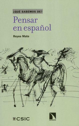 Pensar en español | comprar en libreriasiglo.com