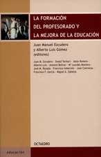 Formación del profesorado y la mejora de la educación, La