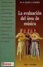Evaluación del área de música, La