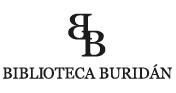 logo editorial Biblioteca buridán
