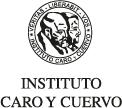 logo editorial Instituto Caro y Cuervo